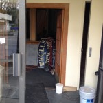 New Kell's Brew Pub sign waiting to go up