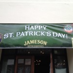 Kell's Brew Pub St. Patrick's Day banner