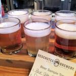 Deschutes Beer Sampler Tray