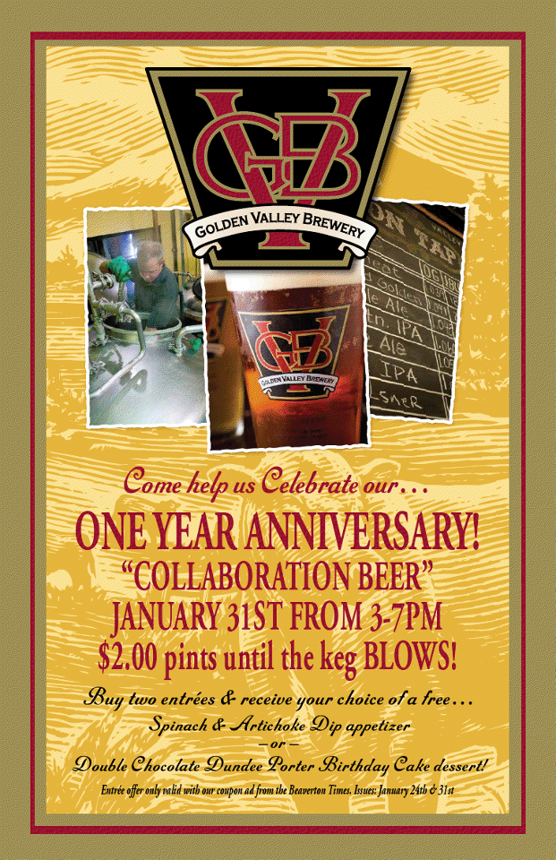 Golden Valley Brewery Beaverton 1st Anniversary Party 1 31