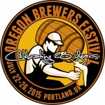 2015 Oregon Brewers Festival Logo